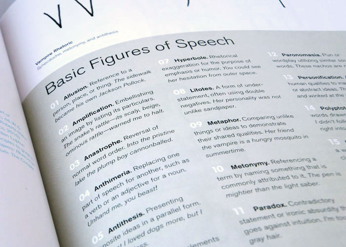 Graphic Design Thinking Figures of Speech